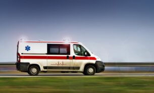 emergency van